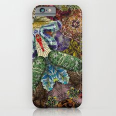 Psychedelic Botanical 5 Slim Case iPhone 6s