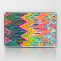 Tribal Chevron - Yellow Laptop & iPad Skin