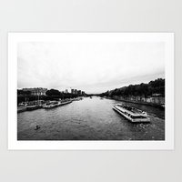 The Seine  Art Print