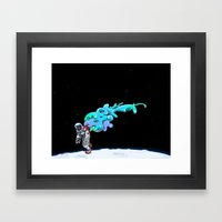 Moonwalk Framed Art Print