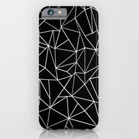 Abstraction Outline Blac… iPhone 6 Slim Case