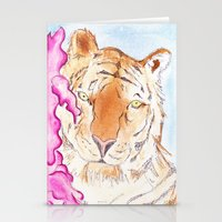 Tiger #1 Stationery Cards