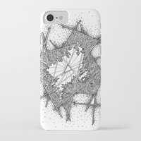 fractal iPhone & iPod Cases featuring Fractal by Abstract Al
