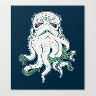 Stormthulhu Canvas Print
