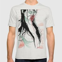 Living Dead Girl Mens Fitted Tee Silver SMALL