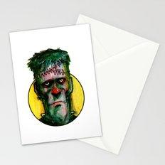 Frankensteins Monster is tired Stationery Cards