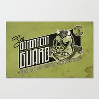 Protection Services Canvas Print