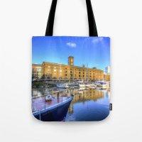 St Katherines Dock Londo… Tote Bag