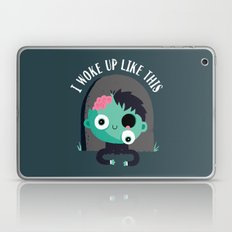I Woke Up Like This Laptop & iPad Skin
