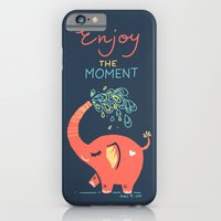 iPhone & iPod Case featuring Enjoy the Moment by Freeminds
