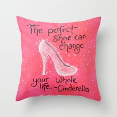 The Perfect Shoe Throw Pillow
