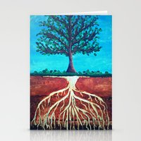 A Tree Only Stands Tall … Stationery Cards