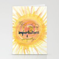 Imperfections Stationery Cards