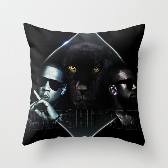 That Ish Cray Throw Pillow