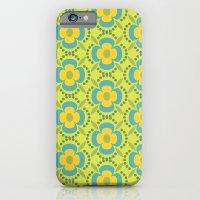 Retro Cold Floral 2 iPhone 6 Slim Case
