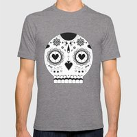LOVE BOLDLY Mens Fitted Tee Tri-Grey SMALL