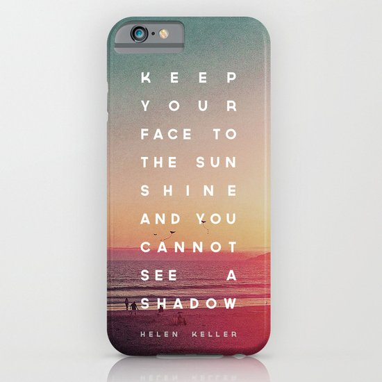 Face to the Sunshine iPhone & iPod Case