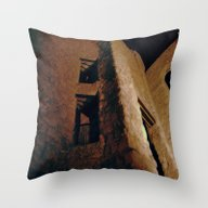 Throw Pillow featuring Stone Stairway by Dorothy Pinder