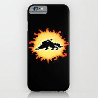 iPhone & iPod Case featuring Amaterasu Logo- Black by LightningArts