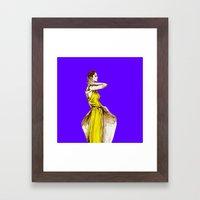 Lady Audrey Calla Lily V… Framed Art Print