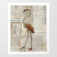 Flamingo II Art Print