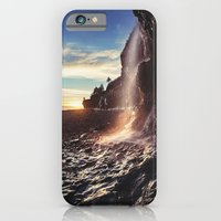 iPhone & iPod Case featuring Bay of Fundy Waterfall by Shaun Lowe