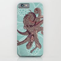 iPhone & iPod Case featuring Octopus Bloom by Valentina Harper