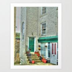 Village Cottage Art Print