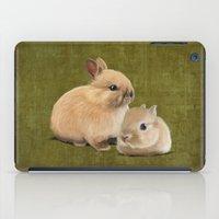 Portrait Of Two Small Bu… iPad Case