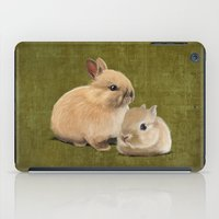 Portrait Of Two Small Bu… iPad Case