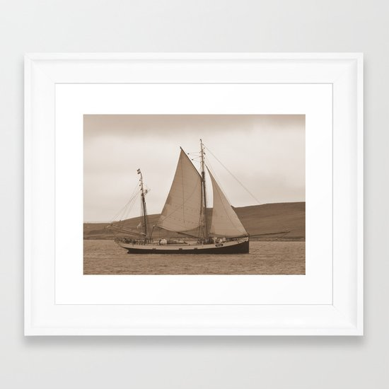 The Tecla Framed Art Print