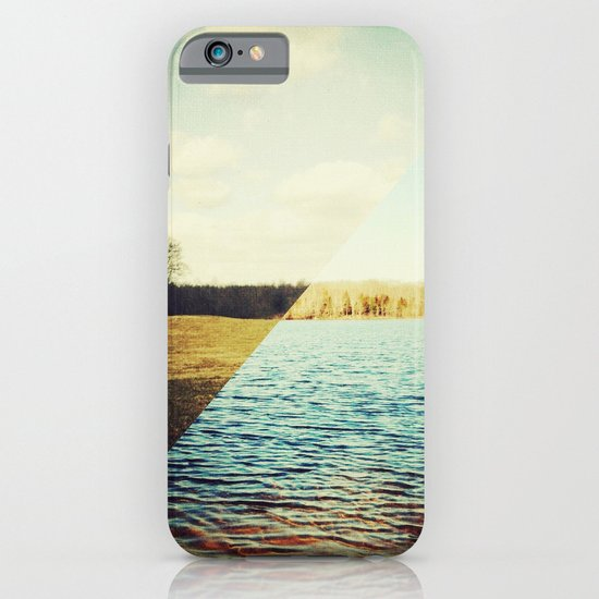 land/water iPhone & iPod Case