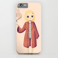 iPhone Cases featuring Margot by Nan Lawson