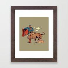 Matador of Steel Framed Art Print