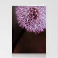 Red Dandelion Fruit Stationery Cards