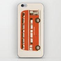 Red London Bus iPhone & iPod Skin