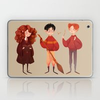 Friendship and Bravery Laptop & iPad Skin