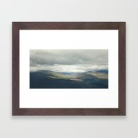 Highland Light Framed Art Print