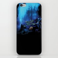 Mermaid II iPhone & iPod Skin