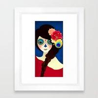 La Muertita ~ Candy Flavoured Framed Art Print