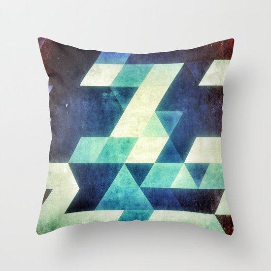 spyce_byryl Throw Pillow