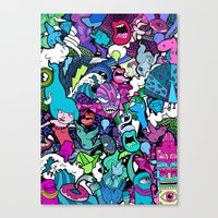 Flash! Canvas Print