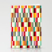 stripes Stationery Cards featuring Stripes by Danny Ivan