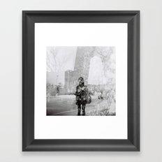 Memoirs of Beijing Framed Art Print