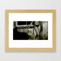 Grunge Series 1 Framed Art Print
