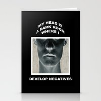 My Head Is A Dark Room, … Stationery Cards
