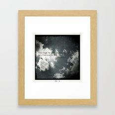 4:7 Framed Art Print
