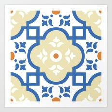 Floor Tile 1 Art Print
