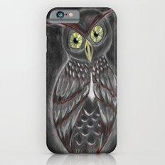 Stylized Owl (Darkened Version) iPhone 6 Slim Case