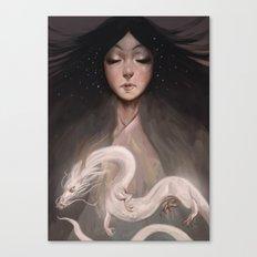 The Spirit of Tomoe Gozen II Canvas Print